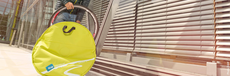 Sacca ruota da corsa Borse di doppio guard Wheelguard Doublewheelguard